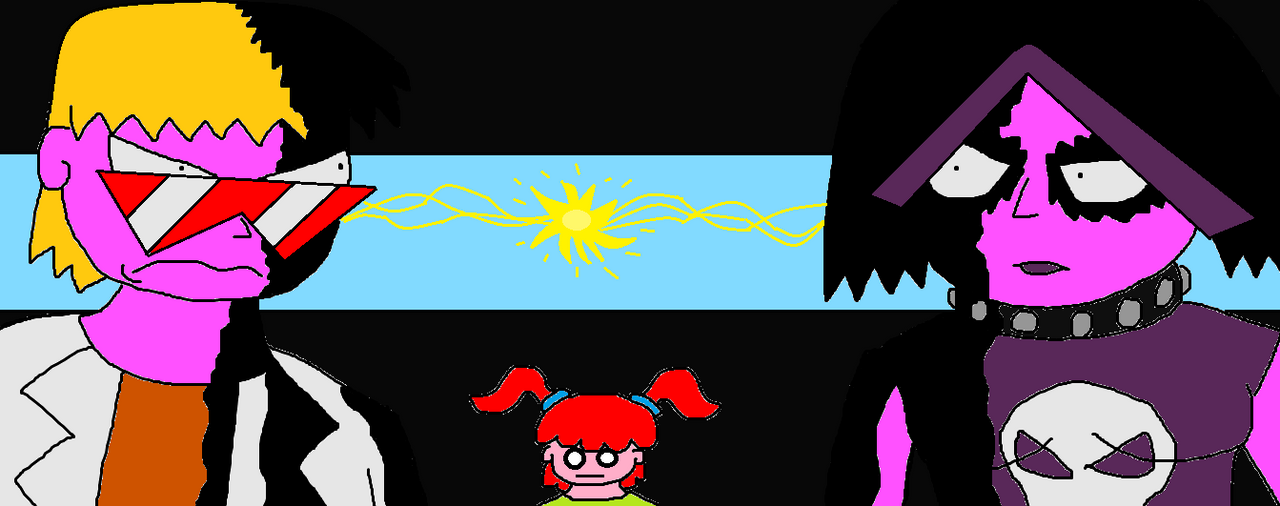 Noodles vs Mina-hate thy sibling by scifiguy9000