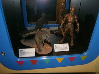 Ray Harryhausen models by scifiguy9000