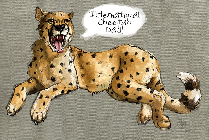 International Cheetah Day 2012 by painted-flamingo