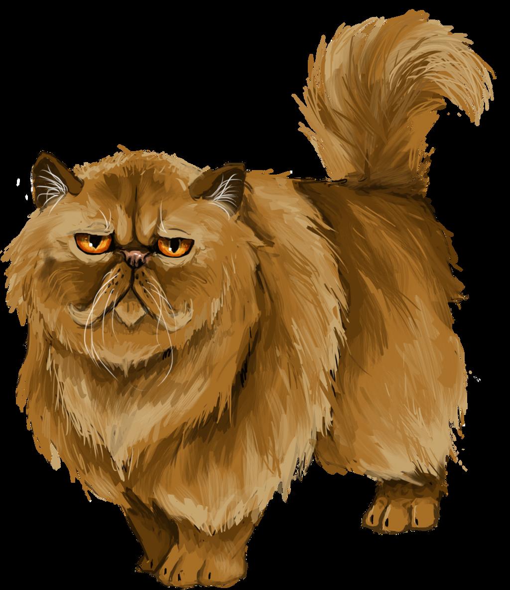 Hermione S Cat Illustration