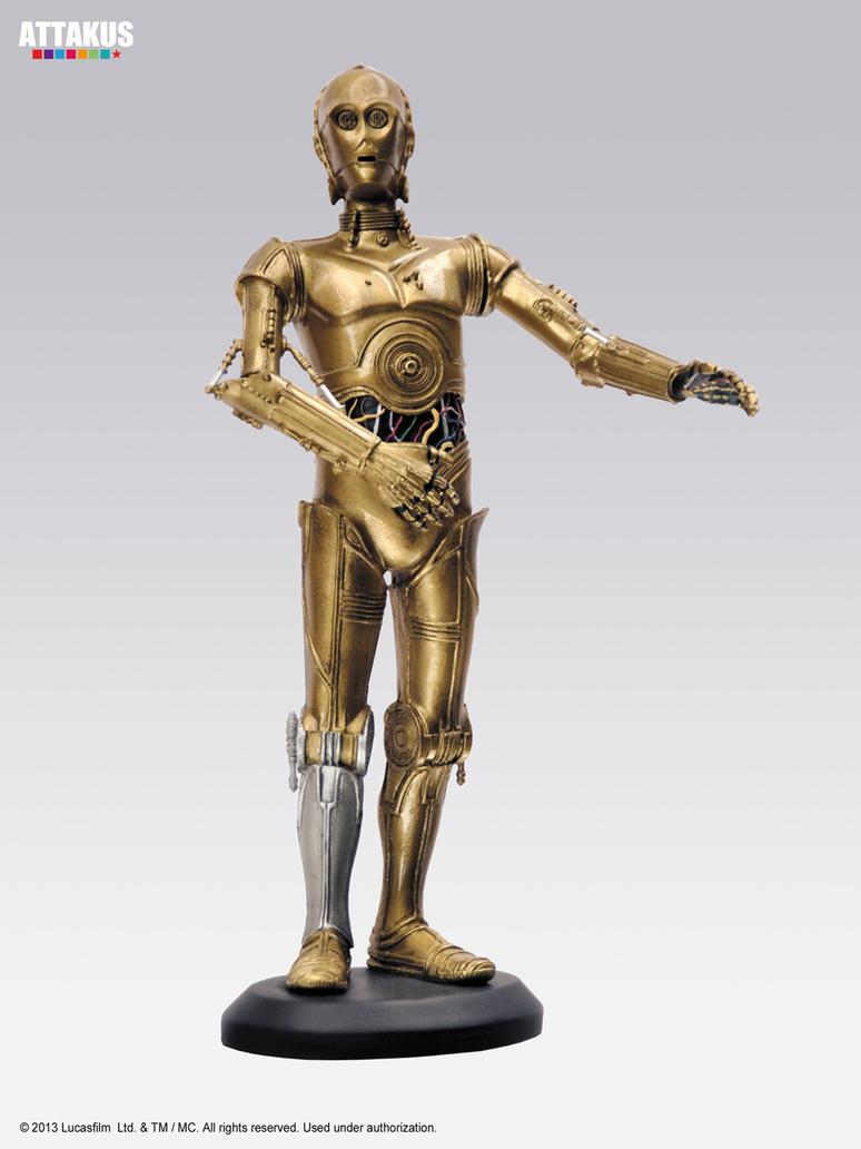 C-3PO (Elite coll.) by attakuscollection