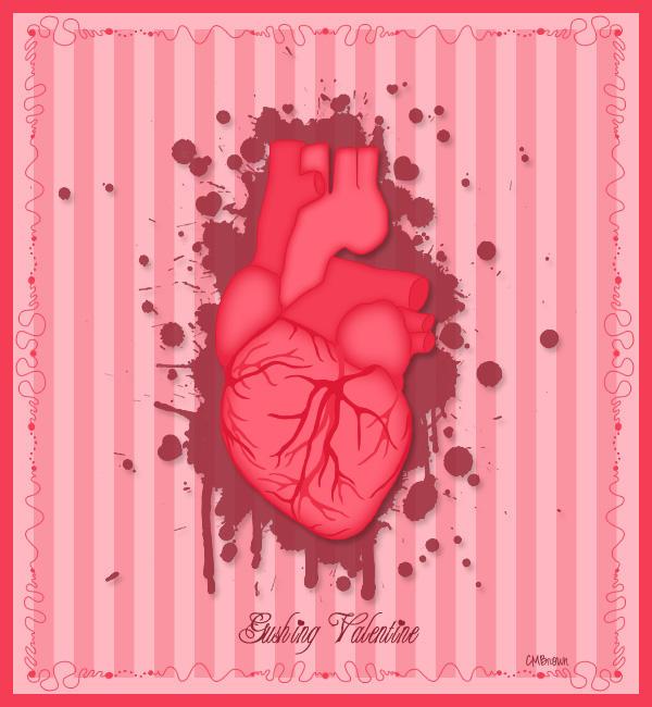 Gushing Valentine