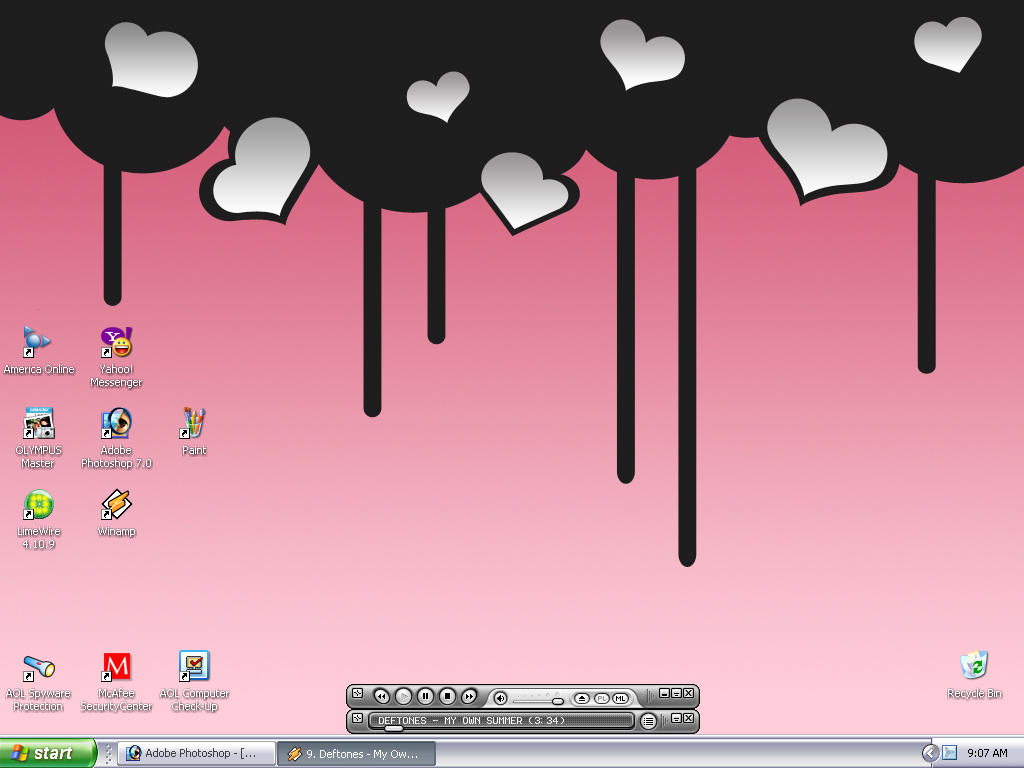 Cindy, the Desktop is Dripping