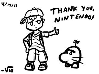 Quick Ness Tablet Sketch by VioletLinked
