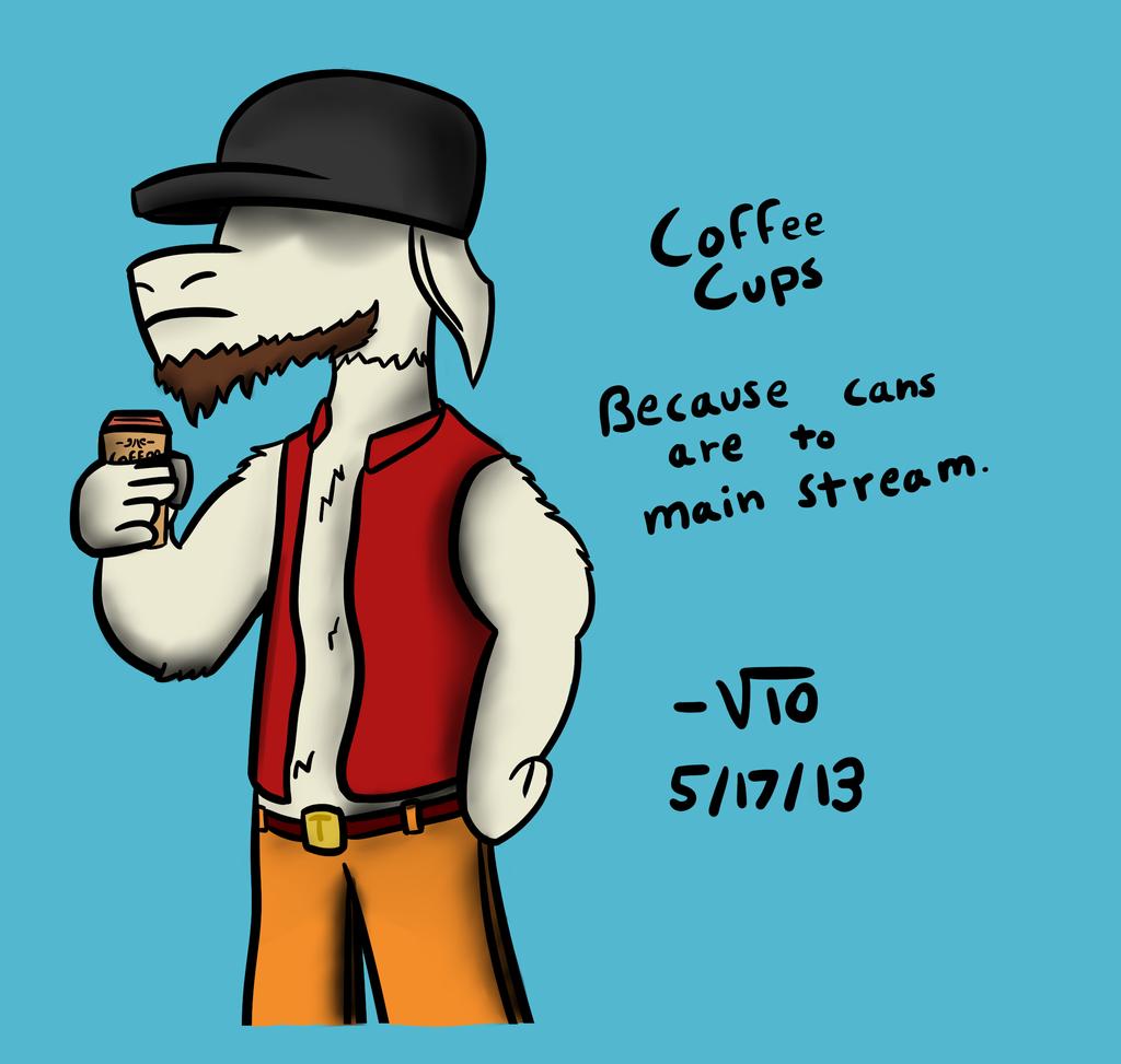 Coffee Cups. by VioletLinked