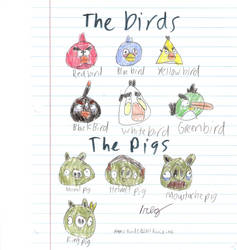 Angry Birds by 1rockbandguy