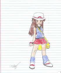Pokemon Trainer-Girl by 1rockbandguy