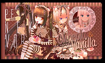 Chocola and Vanilla [Firma] by HitsukiNyan