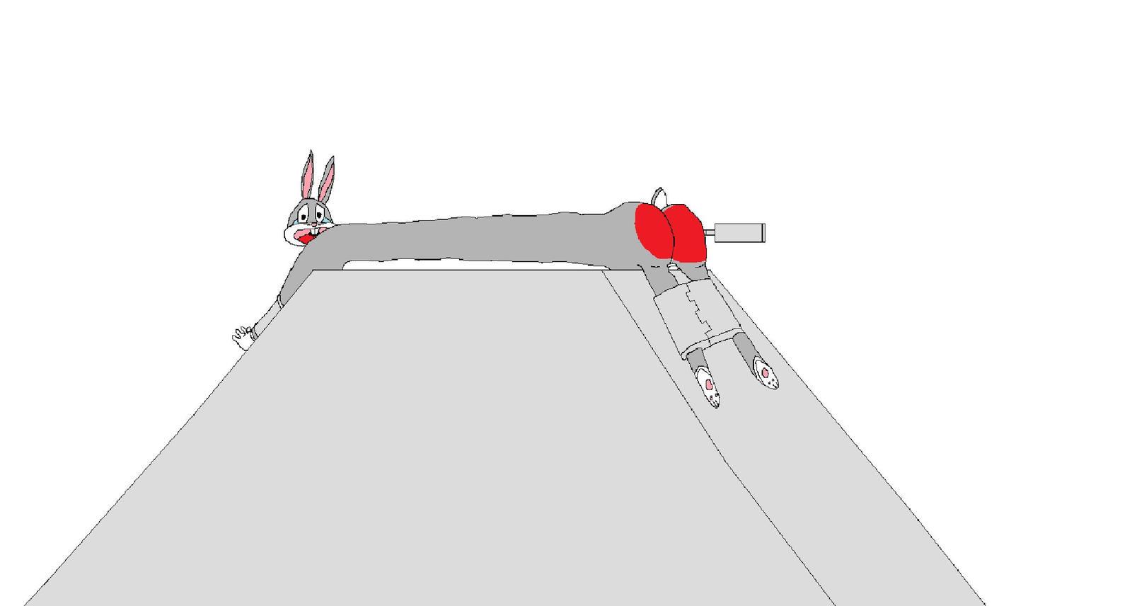 Spanking Machine - Bugs Bunny by Krypto451