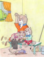 Bad Little Kitten by Krypto451