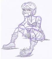 Tank Girl by e4animation