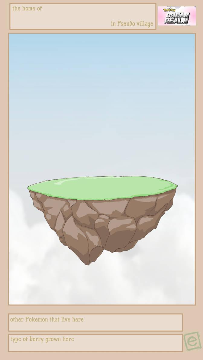 Pokemon Dream Realm Member island