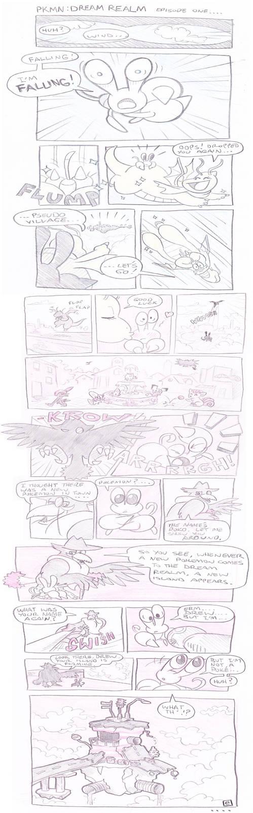 Pokemon Dream Realm Episode 1