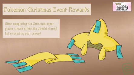 Pokemon Christmas Event Reward