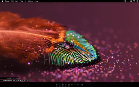 Desktop Macbook Pro with Retina display by TheCowboyWay