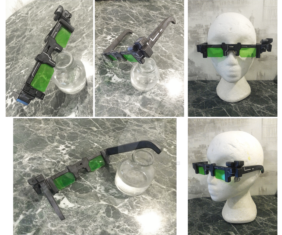 Vaughn's Glasses [non-official handmade replica] by Harusame-chan