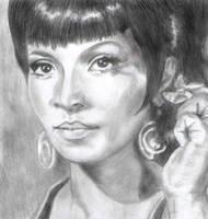 Uhura by Sweetrosali