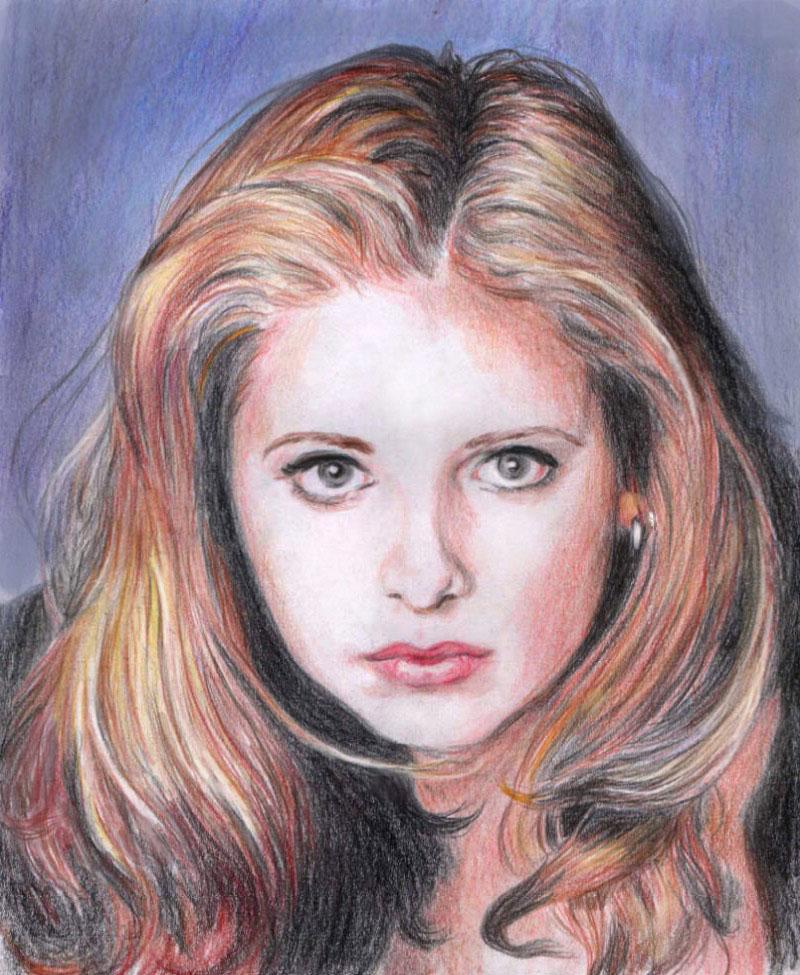 Buffy by Sweetrosali