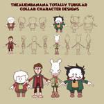 TheAlienBanana Totally Tubular Character Sheet
