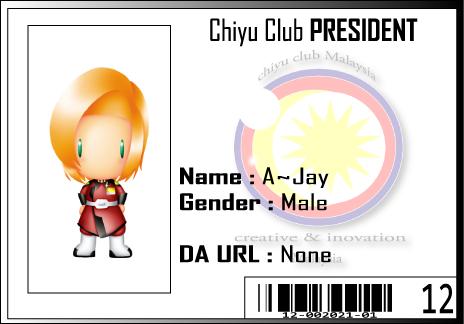 CC ID A-Jay by Chiyu-Club
