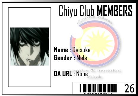 CC ID Daisuke by Chiyu-Club