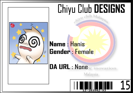 CC ID Hanis by Chiyu-Club