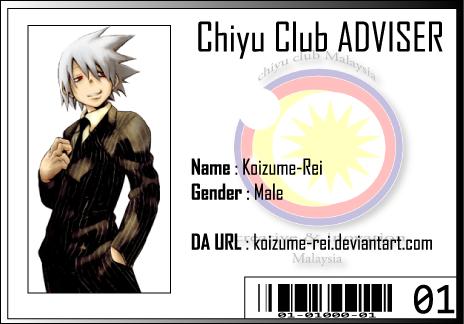 CC ID Koizume Rei by Chiyu-Club