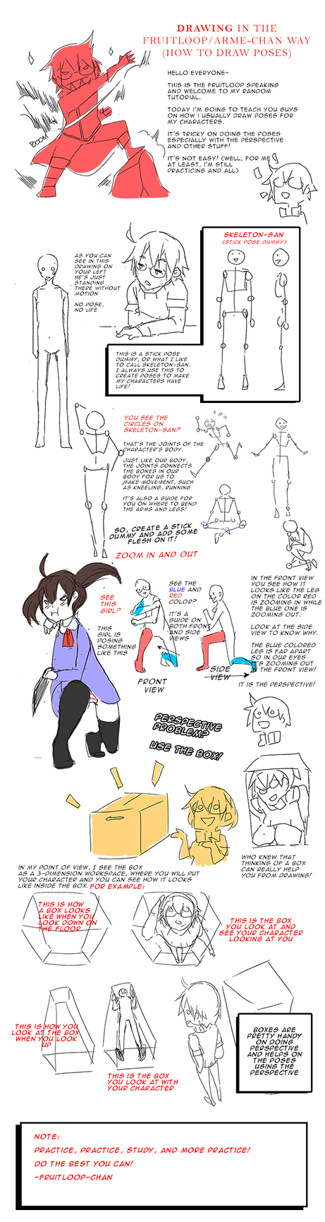 Creating Poses in the Fruitloop way by Fruitloop-chan