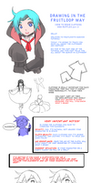 How to draw clothes and ruffles