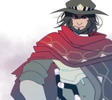 Overwatch: McCree by Fruitloop-chan