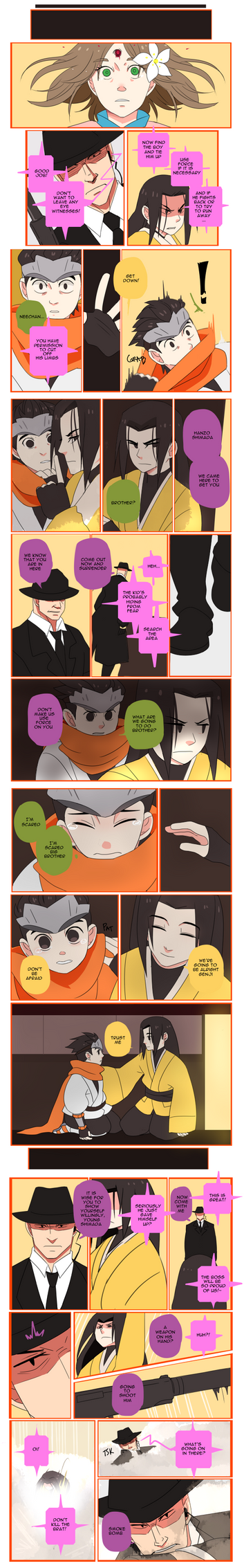Overwatch Comic: Brothers Page 5 by Fruitloop-chan