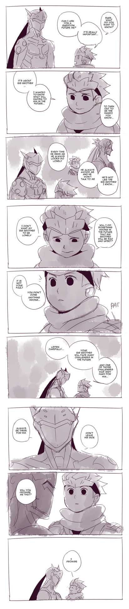 A Lil Promise (A Time Travel Shenanigans Comic) by Fruitloop-chan