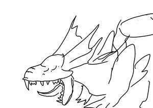 Yawning Mirror doodle