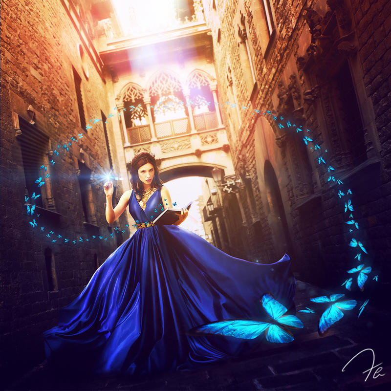 Blue Witch by Photoshoppista90