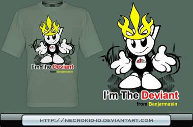DeviBanjart T-Shirt by necrokid-id