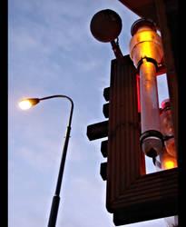 Crossing the Orange Light
