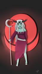 Moon Demon by ArtTsuki