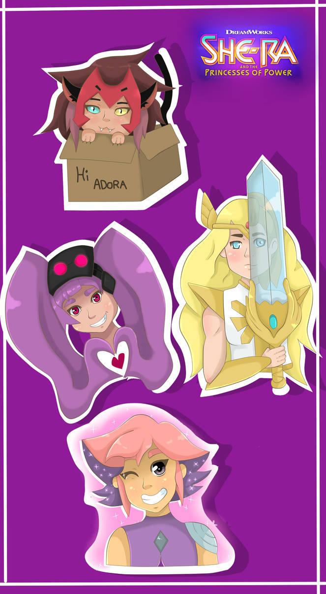 She-ra Stickers