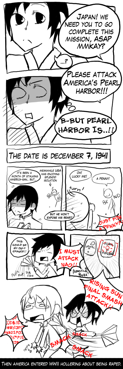 APH: ATTACK ON PEARL HARBOR by KAGEnoSORA