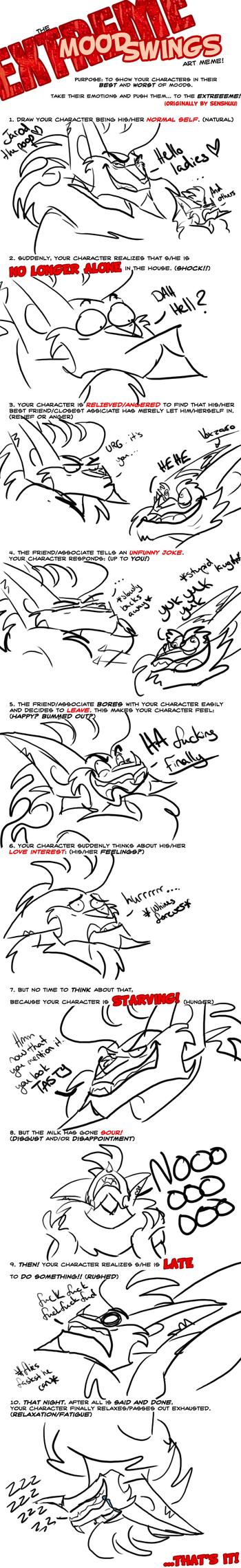 Extreme Mood Swings MEME by Luna1502