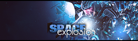 Space Explosion by crystalzeo