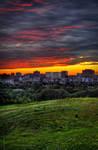Ottawa Skyline and Sunset