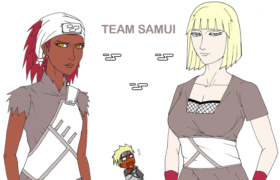 Natuto - Team Samui by adekun on DeviantArt