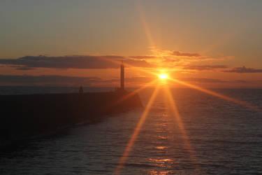 Sunset by TARDISRescue