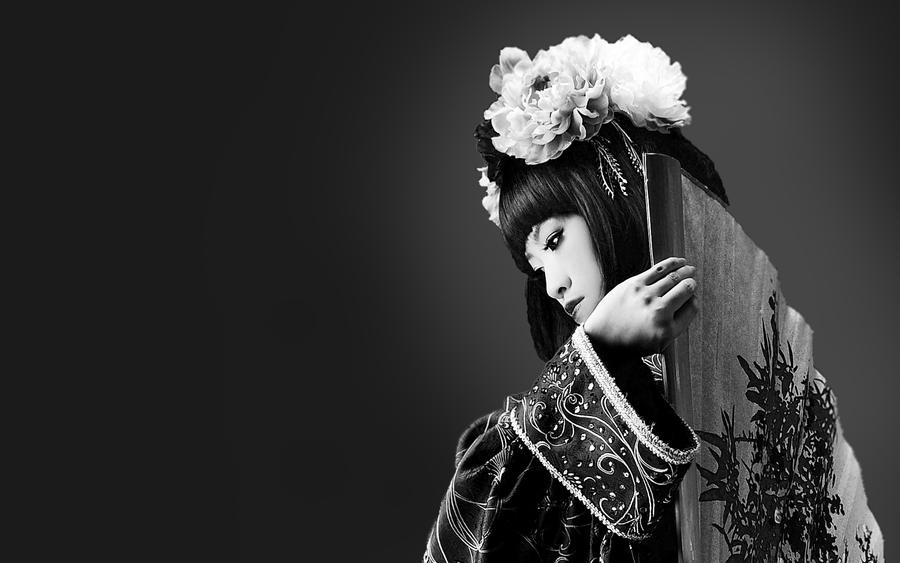 Geisha 1920x1200 by Fotomancer