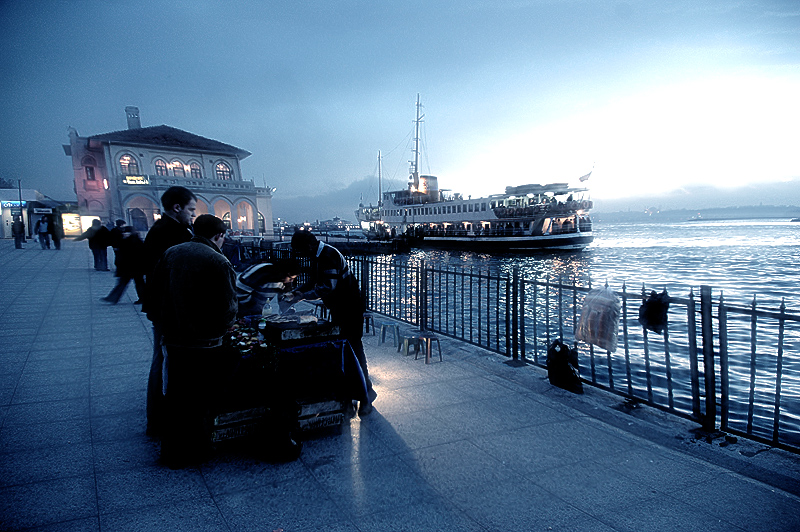 Istanbul Night Series by Amosb