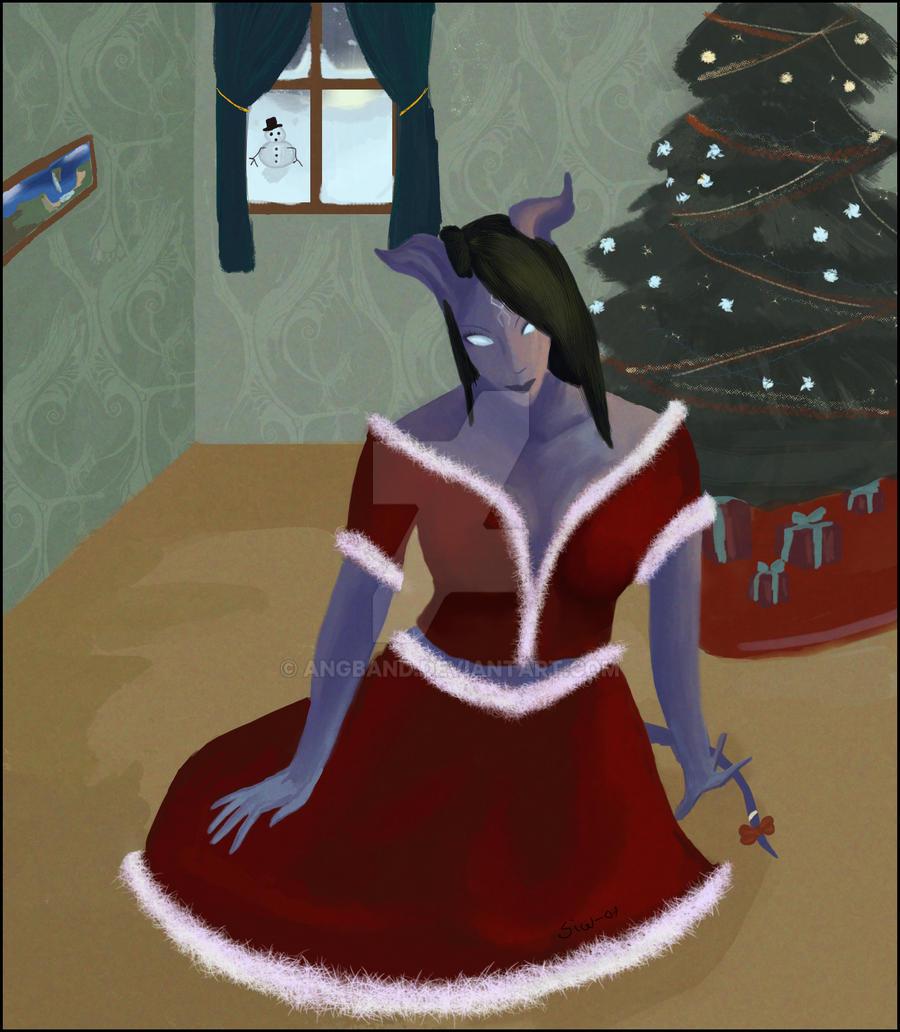 Christmas - Draenei by Angband