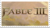 Fable III Stamp by Angband