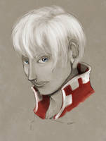 Portrait of Jeriah from Silver by Le-RenardRoux