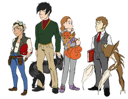 TW@WC Pokemon Trainers by Le-RenardRoux